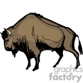 indian indians native americans western navajo buffalo buffaloes bison vector eps jpg png clipart people gif