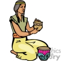 indian indians native americans western navajo female pottery vector eps jpg png clipart people gif gif, png, jpg, eps