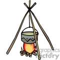 indian indians native americans western navajo cooking fire vector eps jpg png clipart people gif gif, png, jpg, eps