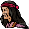 indian indians native americans western navajo head face vector eps jpg png clipart people gif gif, png, jpg, eps