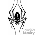 spider skull tattoo