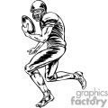 football player running