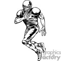 football player running 056