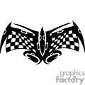 Racing flag symbol