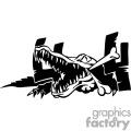 4x4 Crocodile graphics