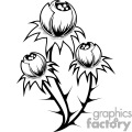flower buds design gif, png, jpg, eps