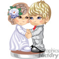 Little girl and boy dressed in Sunday best holding hands