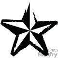 Weathered Nautical star