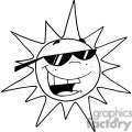 2740-Hot-Sun-Cartoon-Character