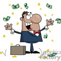 3196-happy-african-american-businessman-with-money  gif, png, jpg, eps, svg, pdf