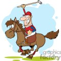 3377-cartoon-polo-player  gif, png, jpg, eps, svg, pdf