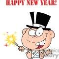 3737-New-Year-Baby-Cartoon-Callendar