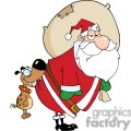 3856-Dog-Biting-A-Santa-Claus