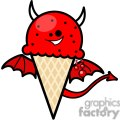 evil ice cream gif, png, jpg, eps, svg, pdf