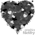 layers of black hearts - lots of love gif, png, jpg, eps, svg, pdf