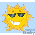 4041-smiling-sun-mascot-cartoon-character-with-sunglasses  gif, png, jpg, eps, svg, pdf