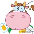 4134-cow-head-cartoon-character  gif, png, jpg, eps, svg, pdf