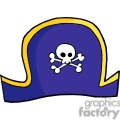 purple pirate hat