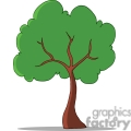 single cartoon tree gif, png, jpg, eps, svg, pdf