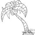black and white palm tree gif, png, jpg, eps, svg, pdf