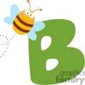 b for bee gif, png, jpg, eps, svg, pdf