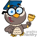4302-owl-teacher-cartoon-character-with-graduate-cap-and-bell