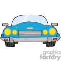 4323-Cartoon-Convertible-Car