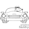4352-cartoon-doodle-businessman-driving-convertible-car  gif, png, jpg, eps, svg, pdf
