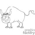 4362-Bull-Cartoon-Character