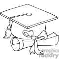 4293-graduate-cap-with-diploma  gif, png, jpg, eps, svg, pdf