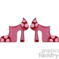 pink high heel boots gif, png, jpg, eps, svg, pdf