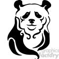 wild panda clipart 066