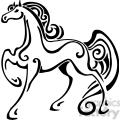 wild horse design 017