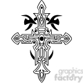 cross clip art tattoo illustrations 002