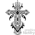 cross clip art tattoo illustrations 011