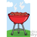 clipart grilled sausages on barbecue gif, png, jpg, eps, svg, pdf