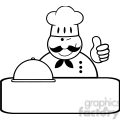 royalty-free-rf-clipart-winked-chef-logo-banner-with-platter-showing-thumbs-up  gif, png, jpg, eps, svg, pdf