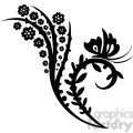chinese swirl floral design 026  gif, png, jpg, eps, svg, pdf
