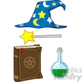 Clipart of Wizard Stuff
