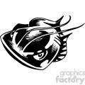 angry fish graphic gif, png, jpg, eps, svg, pdf