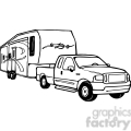 truck and rv camper trailer  gif, png, jpg, eps, svg, pdf