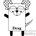 Dog iPhone Case illustration