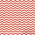chevron design pattern orange