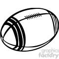 football outline  gif, png, jpg, eps, svg, pdf