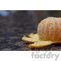 orange peeled