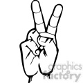 sign language letter v gif, png, jpg, eps, svg, pdf