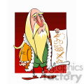 Leonardo Da Vinci cartoon caricature