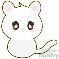 cartoon cat illustration clip art image