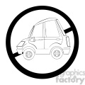 no auto sign in black and white  gif, png, jpg, eps, svg, pdf