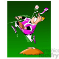 cartoon shortstop baseball player gif, png, jpg, eps, svg, pdf